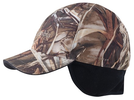 Columbia Sportswear Horicon Marsh Insulated Waterproof Cap Synthetic Blend Realtree Max-4 Camo Large/XL 6-3/4-7-1/2