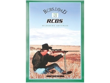 "RCBS CD-ROM ""Dot LOAD Ballistics Software Version 3.4"""