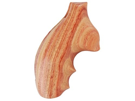 Hogue Fancy Hardwood Grips with Finger Grooves Taurus Small Frame Tulipwood