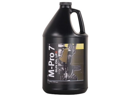 M-Pro 7 LPX Gun Oil 1 Gallon Liquid