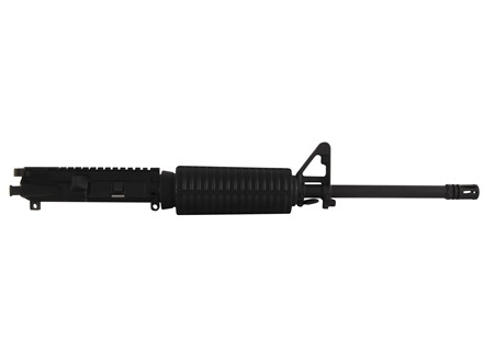 "DPMS AR-15 A3 Flat-Top Upper Assembly 5.56x45mm NATO 1 in 9"" Twist 16"" Barrel Chrome Moly Matte with GlacierGuard Handguard, A2 Front Sight, Flash Hider"