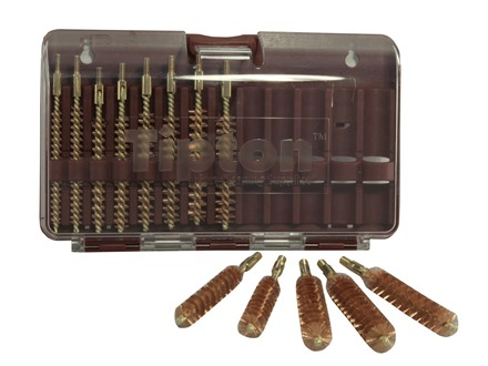 Tipton Bore Brush Set 14-Piece Rifle Best Bronze