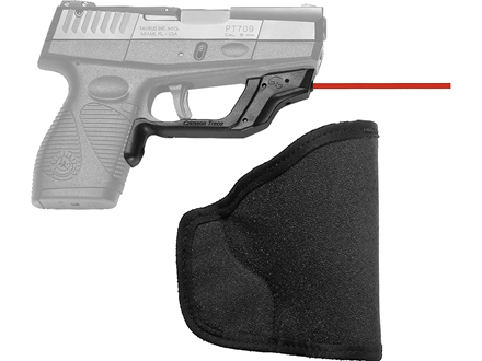 Crimson Trace Laserguard with Pocket Holster Taurus 709, 740, 708 Slim Polymer Black