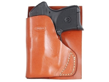 Hunter 2500 Pocket Holster Right Hand Ruger LCP with Crimson Trace Lasergrip Leather Brown