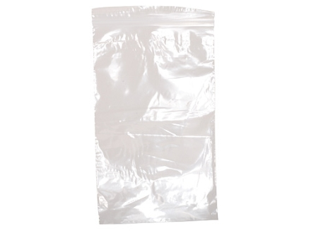 "ZPB Zippered Plastic Bags 6"" x 10"" 2 Mil Package of 50"