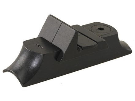 NECG Classic Express Rear Sight with Island Base 1-Leaf Large for .730&quot; to .830&quot; Diameter Barrel Steel Blue
