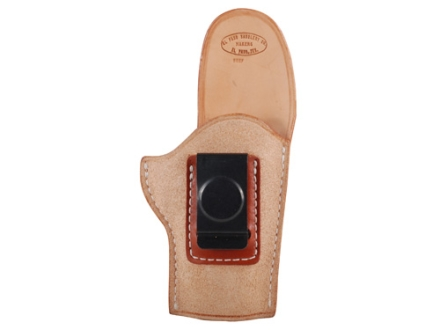 El Paso Saddlery EZ Carry Inside the Waistband Holster Right Hand 1911 Officer Leather Natural