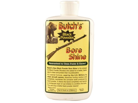 Butch&#39;s Bore Shine Black Powder Bore Cleaning Solvent 8 oz Liquid