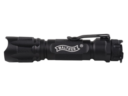 Walther Rebel Tactical Flashlight White LED  Aluminum Black