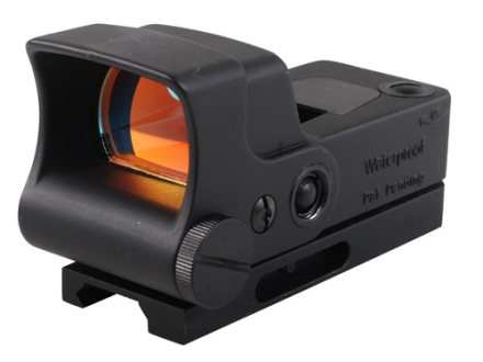 AimShot HG-Pro Reflex Red Dot Sight Circle Crosshair Reticle with Integral Quick Release Weaver-Style Mount Matte