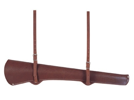 "Weaver Lever-Action Carbine Rifle Scabbard 20"" Barrel Leather Burgundy"