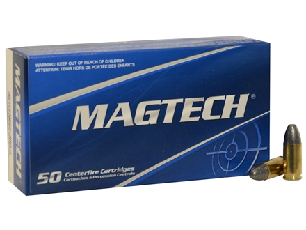 Magtech Sport Ammunition 9mm Luger 124 Grain Lead Round Nose Box of 50