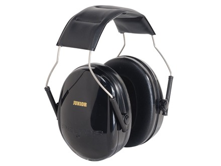 Peltor Junior Earmuffs (NRR 22dB) Black