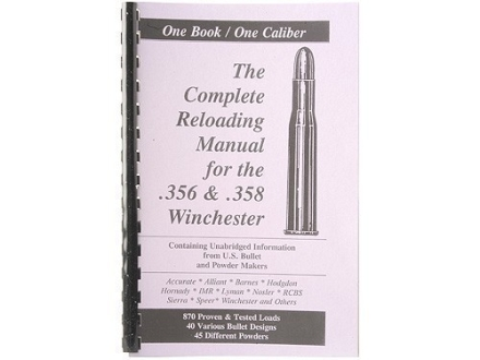 Loadbooks USA &quot;356 and 358 Winchester&quot; Reloading Manual