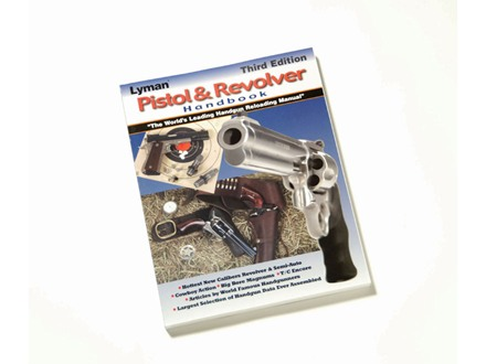 Lyman &quot;Pistol and Revolver: Reloading Handbook: Third Edition&quot; Reloading Manual