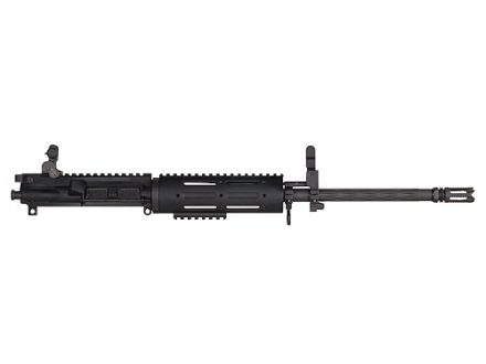 "Yankee Hill AR-15 Customizable Carbine Upper Assembly 6.8mm Remington SPC 1 in 10"" Twist 16"" Fluted Barrel Chrome Lined with Customizable Free Float Handguard, Flip-Up Sights, Flash Hider"