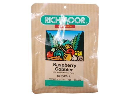 Richmoor Raspberry Cobbler Freeze Dried Meal 4.5 oz