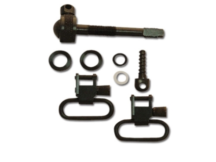 GrovTec Sling Swivel Studs with 1&quot; Locking Swivels Set Remington 742 ADL Steel Black