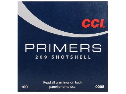 CCI Primers #209 Shotshell Case of 5000 (5 Boxes of 1000)