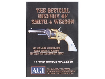 "American Gunsmithing Institute (AGI) Video""The Official History of Smith & Wesson"" DVD"