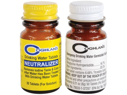 Coghlan's Two Step Drinking Water Purification Kit
