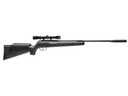 Crosman Nitro Piston Venom Dusk Break Barrel Air Rifle 177 Caliber Black Synthetic Stock Matte Barrel with 3-9x 32mm Scope