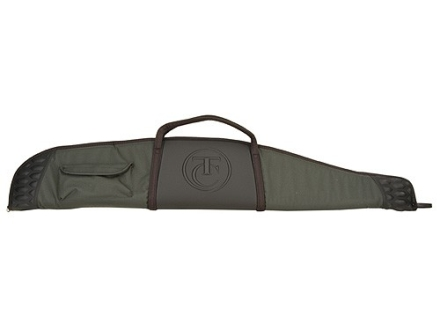"Thompson Center Scoped Rifle Gun Case 52"" with Pocket Nylon Green with Black Trim and T/C Logo"