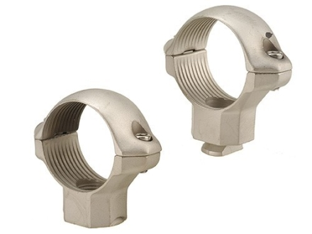 Millett 1&quot; Turn-In Standard Rings Silver High