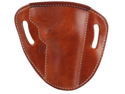 "El Paso Saddlery #88 Street Combat Outside the Waistband Holster Right Hand Smith & Wesson N-Frame 4"" Leather Russet Brown"