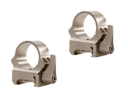 Leupold 1&quot; QRW Quick-Release Weaver-Style Rings Silver Medium