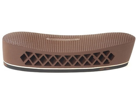 "Pachmayr T550 Deluxe Trap Recoil Pad 1.1"" Medium Screen Face Brown with White Line"