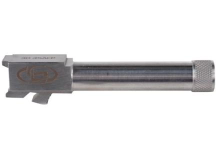 "Storm Lake Semi-Drop-In Barrel Glock 30 45 ACP 1 in 16"" Twist 4.48"" Stainless Steel .575-40 Threaded Muzzle with Thread Protector"
