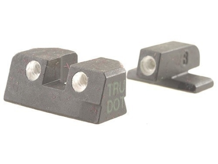 Meprolight Tru-Dot Sight Set Springfield XD 9mm Luger, 40 S&W Service, Tactical Steel Blue Tritium Green Front Orange Rear