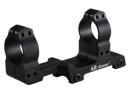 "AR-Stoner 1-Piece Extended Scope Mount Picatinny-Style with Integral 1"" Rings Flat-Top AR-15 Matte"