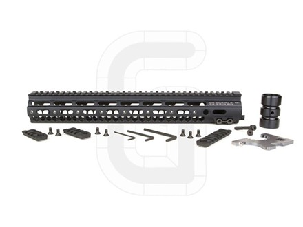Geissele Super Modular Rail MK1 Free Float Handguard AR-15 Aluminum Black 15&quot;