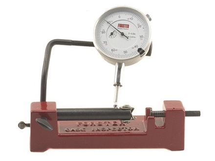 Forster Co-Ax Case and Cartridge Concentricity Gage with Dial