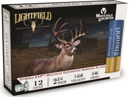 "Lightfield Hybred EXP Ammunition 12 Gauge 2-3/4"" 1-1/4 oz Sabot Slug Box of 5"