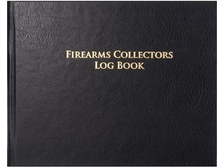 """Firearms Collectors Logbook"" Book"