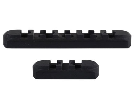 Midwest Industries Customizable Rail Section Kit for SS-Series Free Float Tube Handguard AR-15 Aluminum Black