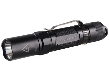 Fenix PD30 Flashlight White LED Aluminum Black
