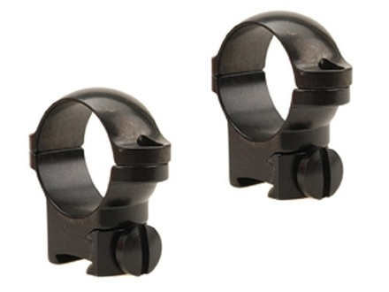 "Leupold 1"" Ring Mounts Rimfire 13mm Grooved Receiver Gloss Medium"