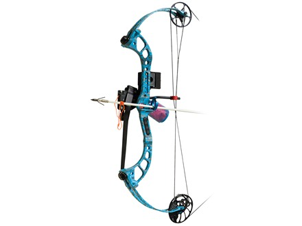 PSE Wave Bowfishing Compound Bow Package Right Hand 20-40 lb. Up to 30&quot; Draw Length Reaper H2O XL Camo