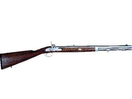 Lyman Deerstalker Black Powder Rifle 50 Caliber Percussion Wood Stock 1 in 48&quot; Twist 24&quot; Barrel Stainless Steel