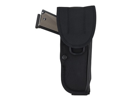 "Bianchi UM84-1 Universal Military Holster Large Frame Semi-Automatic 5"" Barrel Nylon Black"