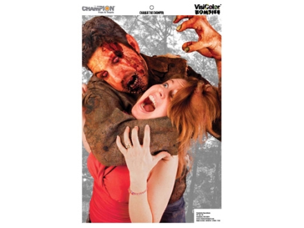 "Champion Zombie Charlie the Chomper Target 24"" x 45"" Paper Package of 10"