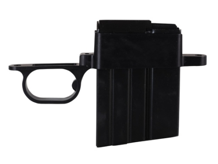 Wyatt's Outdoors Trigger Guard and Detachable Magazine Assembly Remington 700 BDL Short Action .223 Remington 10-Round Aluminum Matte
