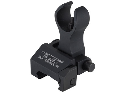 Troy Industries Front Flip-Up Battle Sight HK-Style AR-15 Handguard Height Aluminum Black