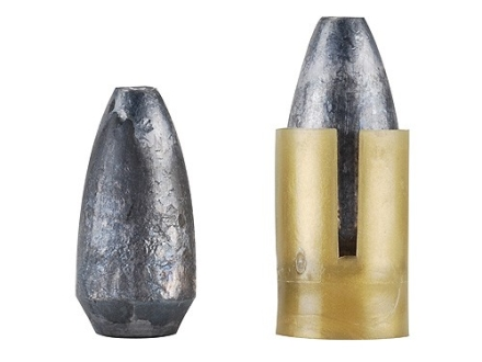Lightfield Alpha Gold 300 Bullets 50 Caliber Sabot with 45 Caliber 300 Grain Hollow Point Boat Tail Pack of 14