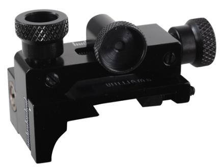 Williams FP-AG Receiver Peep Sight with Target Knobs Airguns, 22 Rifles with Dovetail Grooved Receiver and High Line Of Sight Aluminum Black