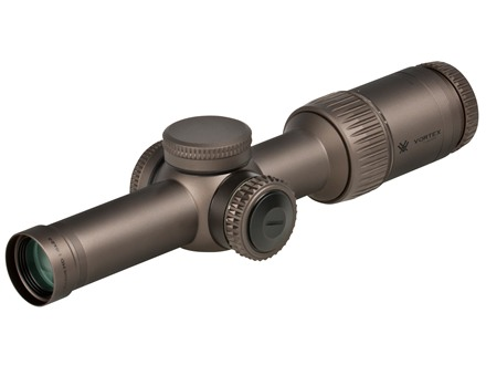 Vortex Razor HD Gen II Rifle Scope 30mm Tube 1-6x 24mm Illuminated JM-1 BDC Reticle Stealth Shadow Black